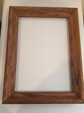 """Vintage Oak Frame - 17""""x 12 3/4"""" Early American Stain   FITS 10"""" BY 14"""" item"""