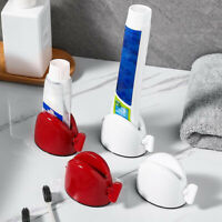 Bathroom Rolling Tube Toothpaste Squeezer Toothpaste Easy Dispenser Seat Holder