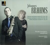 BRAHMS  - ARSENIJEVIC (SAXOPHONES) , BUFFET (PIANO)