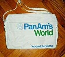 Vintage Pan Am's World travel flight bag NOS