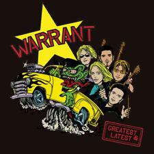 Warrant *Greatest & Latest - Limited  Cherry Splatter NEW RECORD LP VINYL