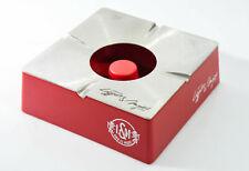 L&M Tabak Monaminharz / Edelstahl Design Wind Aschenbecher eckig