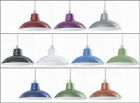 Retro Ceiling Pendant Light Lamp Shade Easy Fit Cafe Kitchen Dining Lampshade
