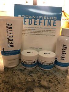 Rodan + Fields REDEFINE Full Size Regimen Expires 4/22 FREE Shipping