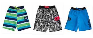 New Boy's Adidas Swim Trunks Boardshorts Swimwear Choose Color & Size