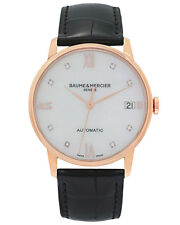 Baume and Mercier Classima Automatic 18K Gold Automatic Ladies Watch M0A10077