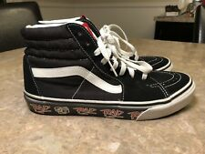 Vintage VANS RAD bmx MOVIE EDITION og RARE collectible because of LAWSUIT Sz. 8