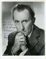 Peter Cushing Psa Dna Coa Hand Signed 8x10 Photo Autograph