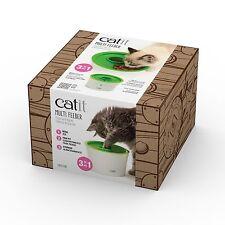 Catit Senses 2.0 Multi Feeder Kitty Cat Kitten Weight Control Food Dish Green