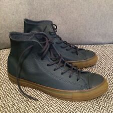 Converse All Star Blue Leather Size 8.5 Uk, 42 Eu