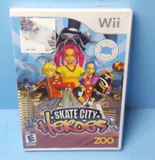Skate City Heroes (Nintendo Wii, 2008) BRAND NEW FACTORY SEALED