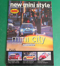 NEW MINI CITY STYLE CAR MAGAZINE tuning RIVISTA NUOVA MINI AUTO JULY 2003