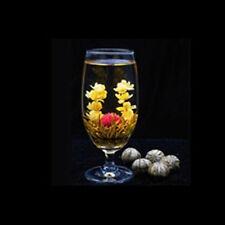 10Pcs handgemachte blühende Blume Tee chinesische Ball Blüte Blume Kräutertee_BC