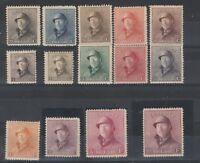 FRANCOBOLLI - 1919 BELGIO ALBERTO I° MNH/MLH Z/9306
