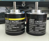 1 pc OMRON 2000P Incremental Rotary Encoder 2000p/r 6mm Shaft 5-24vdc E6B2-CWZ6C