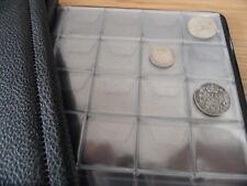 BLACK  COIN ALBUM  - 192  SMALL SIZE COINS