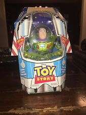 "1998 Toy Story Power Boost Buzz Lightyear 9"" Figure - Vintage"