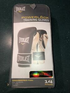 Everlast Powerlock Training Gloves Black And Gold 14 Ounces Getting It Done