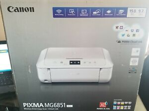 CANON PIXMA MG6851 All-in-One Wireless Printer Copy/Scan Air & Cloud Print