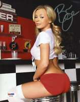 BREE OLSON PSA DNA Coa Autograph 8X10 Photo AVN Hand Signed Authentic 6