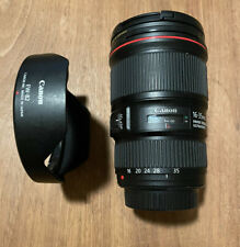 Canon EF 16-35mm f/4.0L IS USM Ultra Wide Angle Zoom Lens E