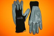 Gants VENITEX VE712GR - MILIEU HUILEUX - GANT POLYESTER - ENDUCTION NITRILE T 7
