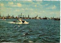 Alte Postkarte - Hamburg - Schlepper im Hafen