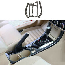 Carbon fiber color Water Cup Holder Cover Fit For Toyota Corolla 2014-2018 LHD