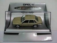 SCHUCO OPEL COLLECTION  MONZA ASCONA REKORD SENATOR model cars 1:43rd
