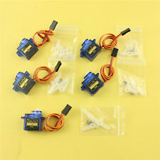5x SG90 9G Micro Servo Motor RC Robot Arm Helicopter Airplane Remote Control