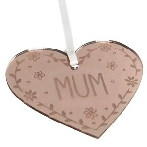 Mum Gift Rose Gold Plaque Sign Mothers Day Present Birthday Engraved Keepsake