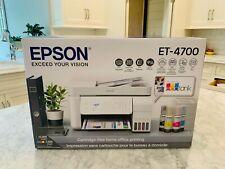 🖨 Epson EcoTank Et-4700 All-in-One Supertank Printer - Brand New - Ships Fast!