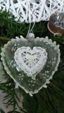 Décorations de sapin de Noël blanc sans marque noël