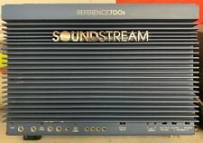 Old School Soundstream Reference 700s 2 Channel Amplifier,RARE,USA,vintage