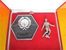 COFFRET Récompense plaquette rouge FOOTBALL - COFFRET : 16 x 13 cm