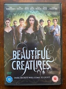Beautiful Creatures DVD 2013 Teen Horror Movie w/ Emmy Rossum +Jeremy Irons