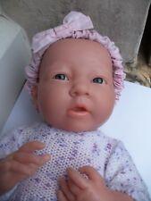 Superne poupée bébé BERANGER réaliste nouveau né fille reborn