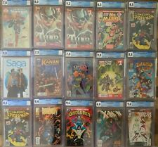 CGC GRAB BAG Marvel DC Indy AWESOME GRADED CHASE COMICS First issues Appearances