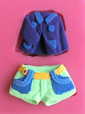 Shorts & Jacket Coat 2 Cavity Silicone Mold Fondant, Gum Paste, Chocolate,