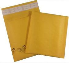 """Pack of 100 #MINI™ 4x5"""" Self Seal Kraft Bubble Mailers Envelopes Padded Smallest"""