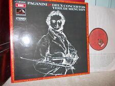"""PAGANINI: Violin Concertos n°1 & n°2 """"la campanella"""" > Menuhin Erede /EMI stereo"""