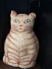 Remanente de valor material Tela Polycotton Gatos Elegante Rojo 75 cm X 100 Cm