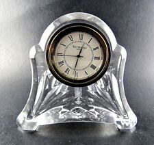 WATERFORD CRYSTAL GLASS CLOCK (E62)