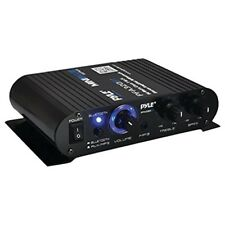PYLE HOME PFA330BT 90-Watt Mini Blue Series Compact Bluetooth Amplifier