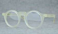 Brand design Luxury Round Eyeglass frames Transparent yellow Glasses Retro