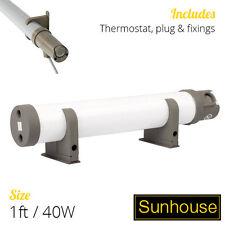 1 Ft / 40W Sunhouse Tubular Heater - Electric Tube Heating