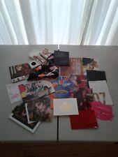 *HUGE* MAC COSMETICS MEMORABILIA LOT includes postcards, posters, dvds etc.