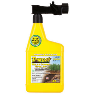 Mole Tomcat Gopher Repellent And 32 Oz Ready Spray Covers up to 10,000 sq. ft.