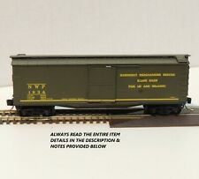 "N SCALE: 40' DOUBLE-SHEATHED WOOD BOXCAR - ""NORTHWESTERN PACIFIC"" - MTL 39140"