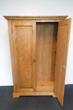 Schrank Wandschrank 2-türig Massiv Holz Wohnzimmer  Landhaus vintage  #900
